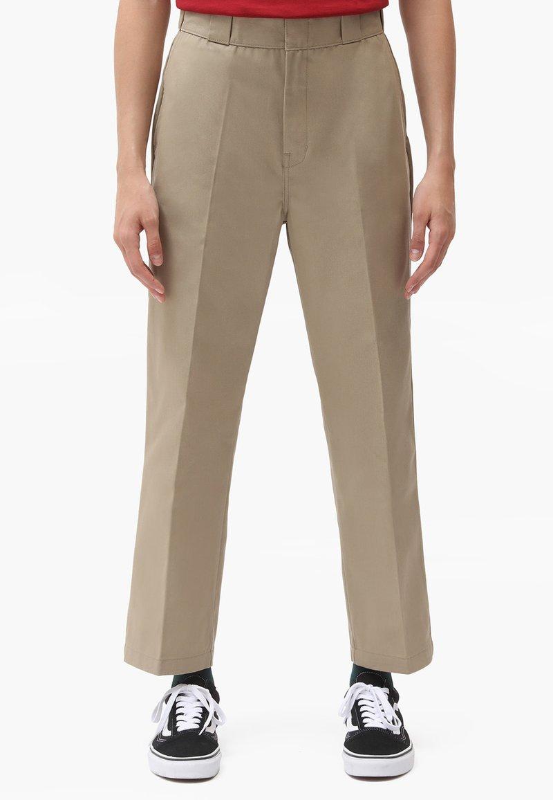 Dickies - 874 CROPPED PANTS - Bukser - khaki