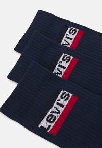 Levi's® - REGULAR CUT LOGO 3PACK - Sokken - dress blue - 1