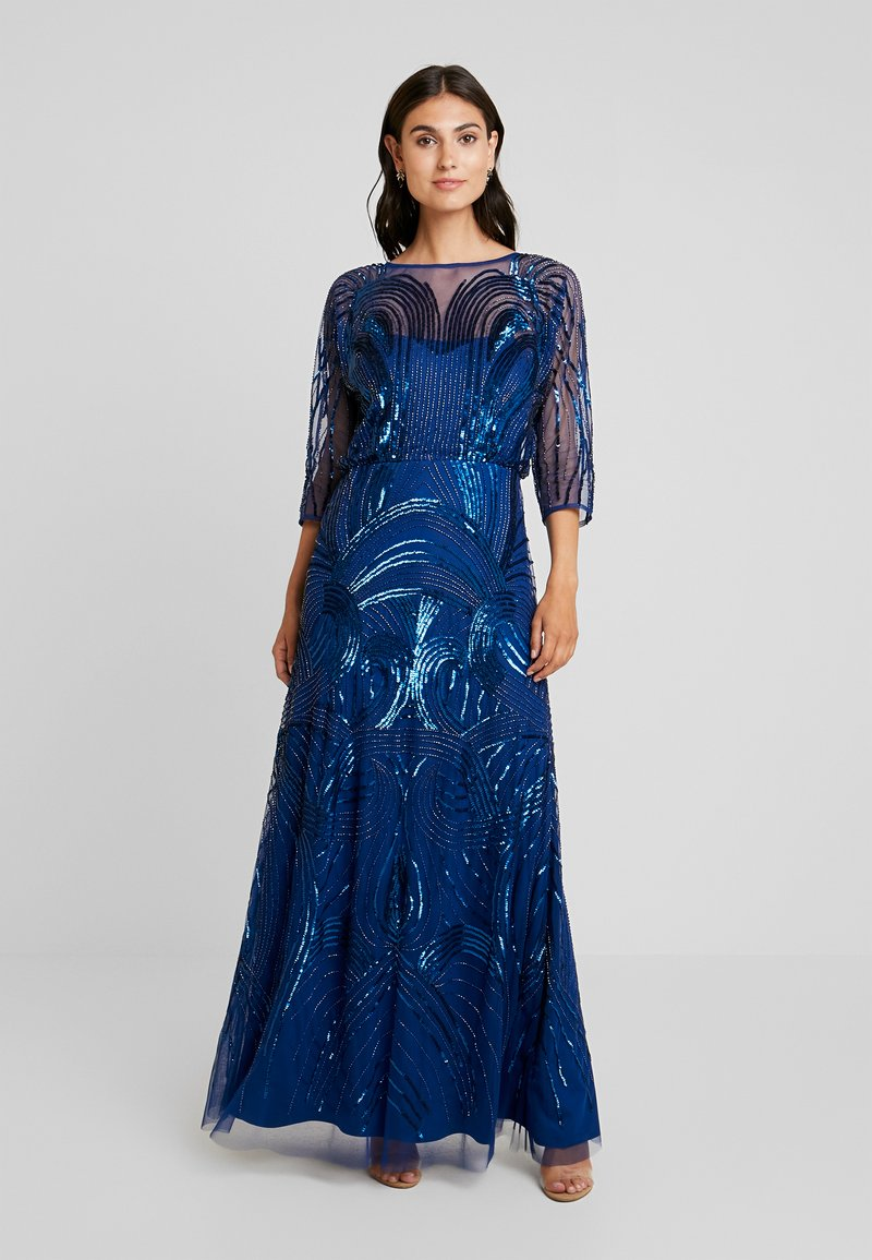 Adrianna Papell - BEADED MERMAID GOWN - Ballkjole - night flight