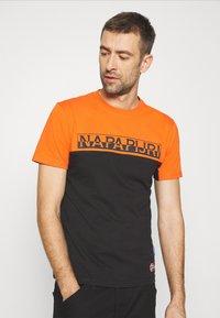 Napapijri - ICE - T-shirt con stampa - black - 3