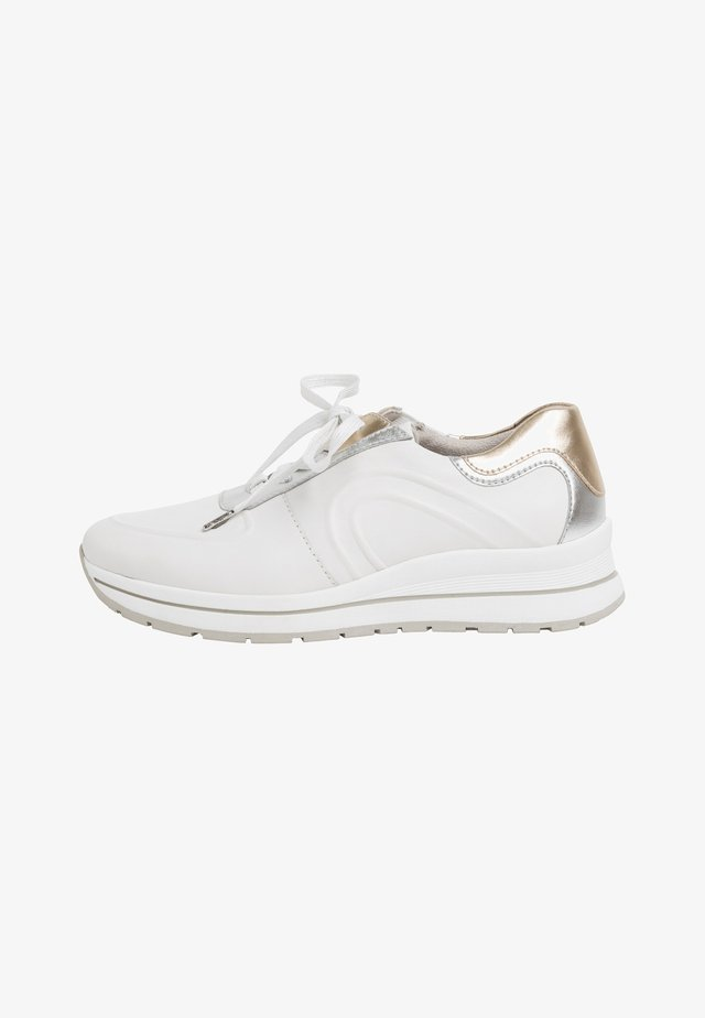LACE UP - Sneakers laag - wht/plain comb