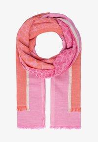 Apart - Scarf - pink-multicolor - 0