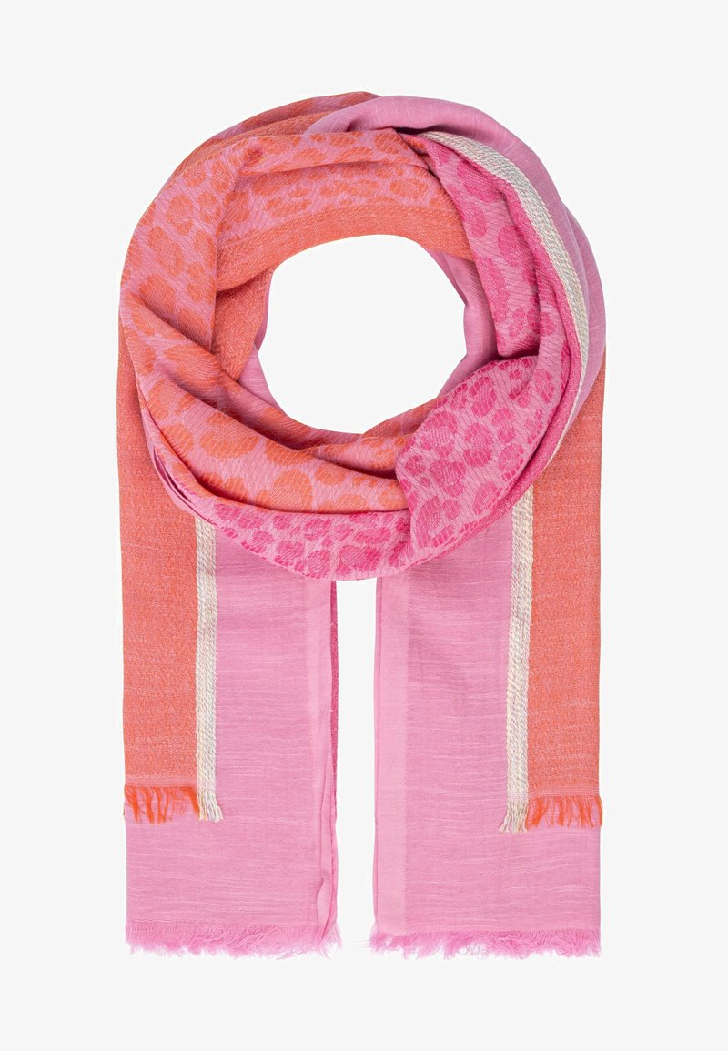 Apart - Scarf - pink-multicolor