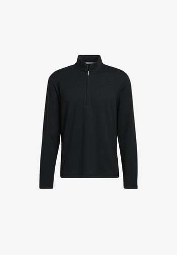 3-STREIFEN QUARTER-ZIP  - Sweatshirt - black