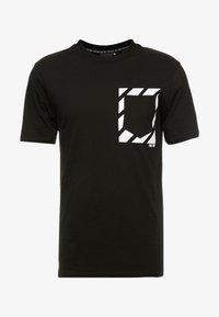 FAKTOR - KNOXX TEE - T-shirt - bas - black - 3