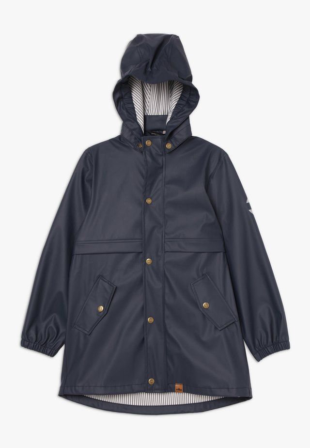 GIRLS RAIN COAT - Regnjacka - blue nights