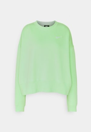 CREW TREND - Sweatshirt - cucumber calm/white