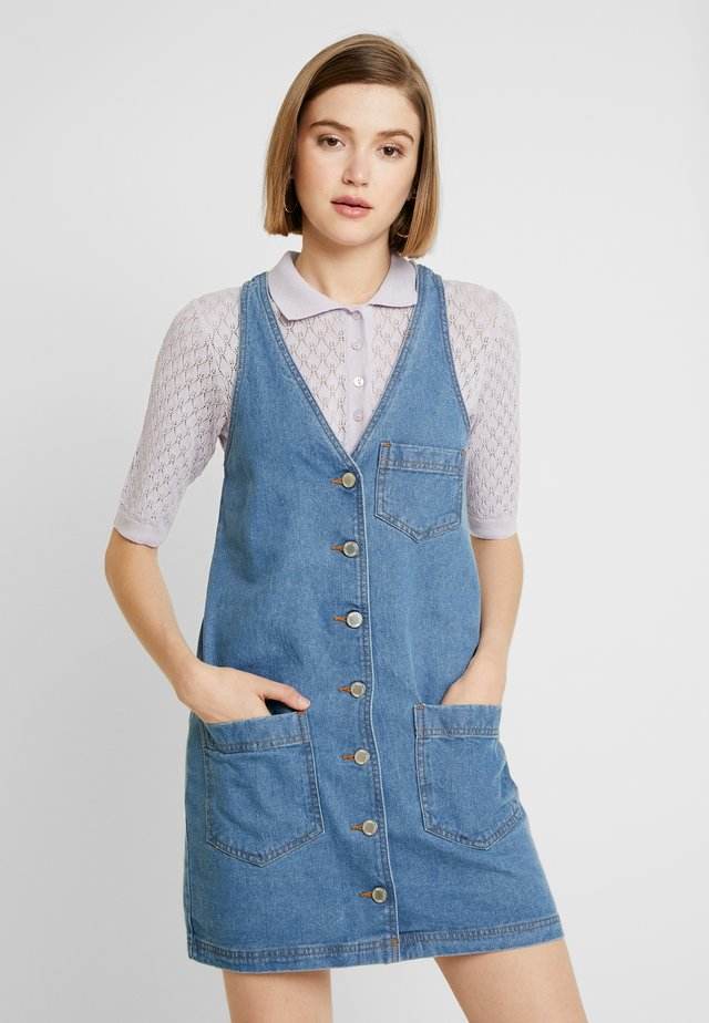 PINNY DRESS MOVE ON - Denim dress - mid blue