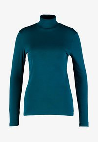 Benetton - TURTLE NECK - Long sleeved top - forest green - 4