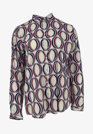 Button-down blouse - pearl print