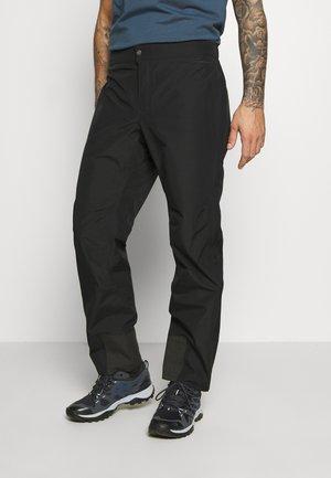 M DRYZZLE FUTURELIGHT FULL ZIP PANT - Outdoorové kalhoty - black