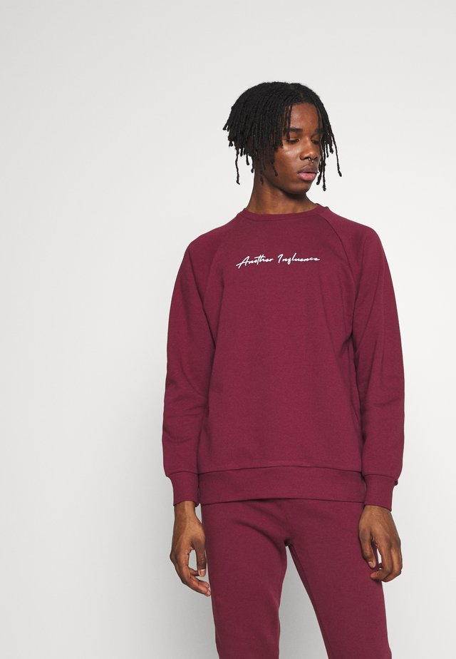 SIGNATURE  - Sweatshirt - burgundy