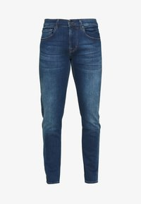 7 for all mankind - SLIMMY TAP - Vaqueros slim fit - mid blue - 4