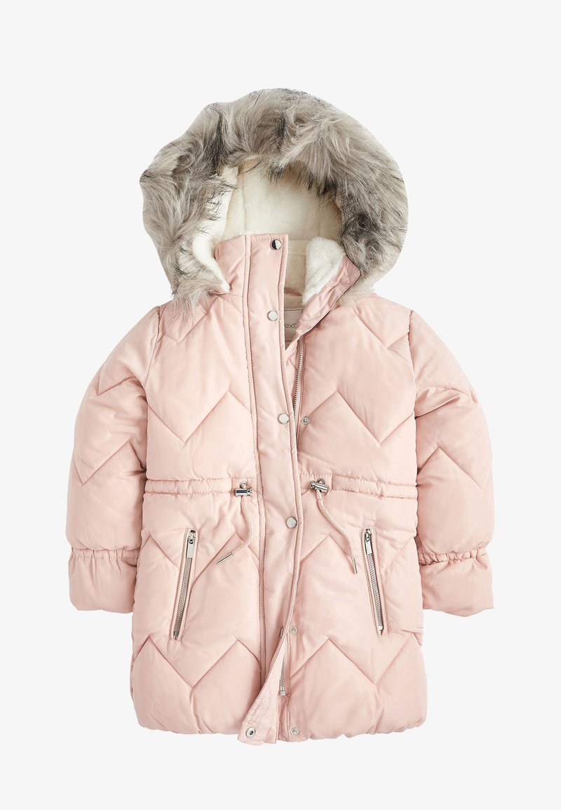 Next - Winter coat - pink