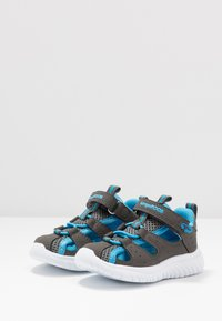 KangaROOS - KI-ROCK LITE - Sandalen - steel grey/brillant blue - 3