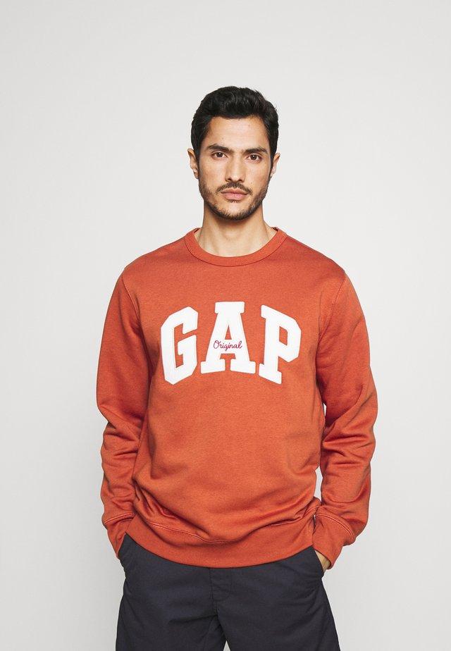 ORIGINAL ARCH CREW - Sweater - copper