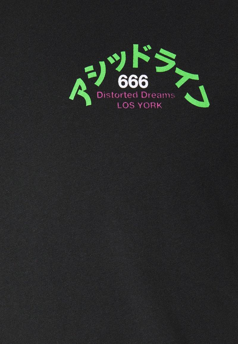 YOURTURN T-Shirt print - black/schwarz SBlKX8
