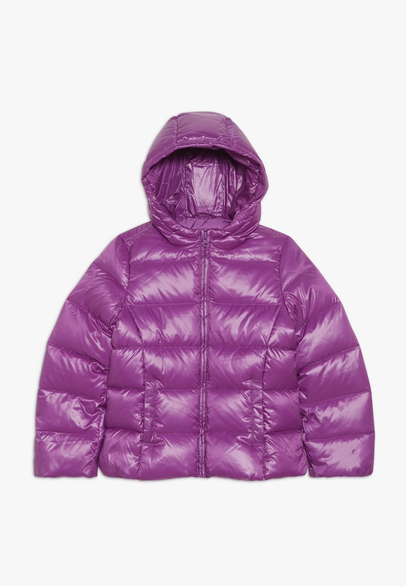 Benetton - JACKET - Bunda z prachového peří - purple