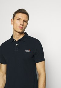 Superdry - CLASSIC  - Polo shirt - eclipse navy - 3