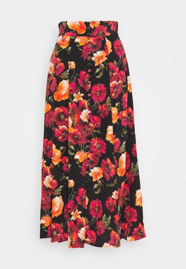 JUPE - Áčková sukně - multicolor