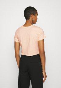 Trendyol - Print T-shirt - beige - 2