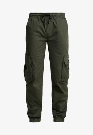 BASIS - Cargo trousers - khaki