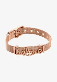 Heideman - ARMBAND BELIEVE - Bracelet - rose goldfarbend - 1