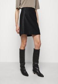 Filippa K - HOLLY SKIRT - A-line skirt - black - 0