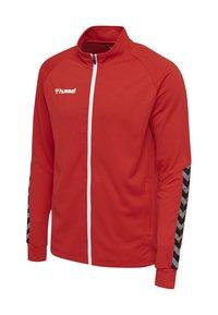 Hummel - HMLAUTHENTIC  - Training jacket - red - 2