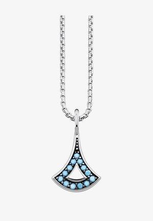 ASIATISCHE ORNAMENTE  - Necklace - silver-coloured/turquoise