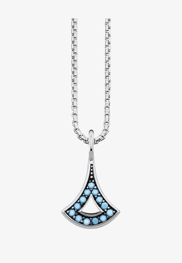ASIATISCHE ORNAMENTE  - Ketting - silver-coloured/turquoise