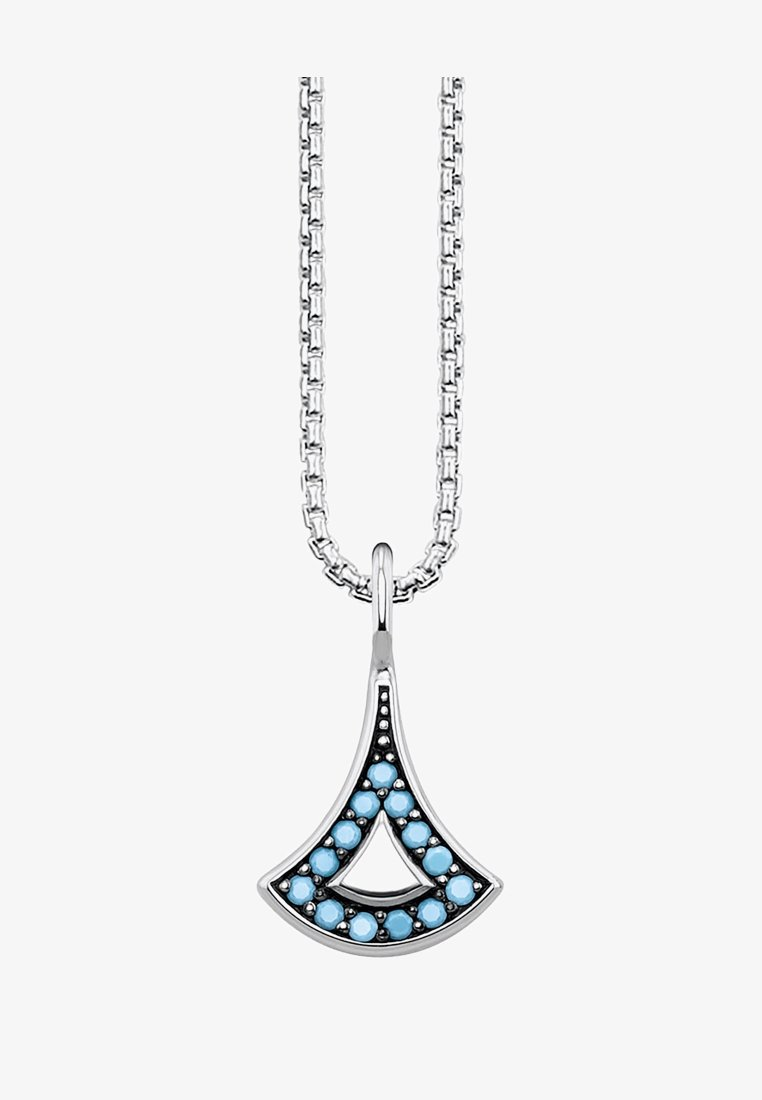 THOMAS SABO - ASIATISCHE ORNAMENTE  - Necklace - silver-coloured/turquoise