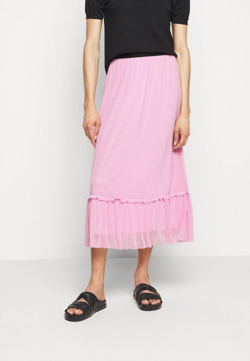 Bruuns Bazaar - THORA FLOUNCE SKIRT - A-lijn rok - pink lavender