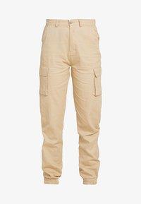 Missguided Tall - PLAIN CARGO TROUSER - Pantaloni - sand - 4