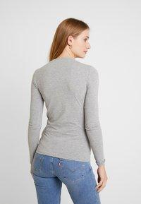 Guess - KUMIKO - Long sleeved top - stone heather grey - 2
