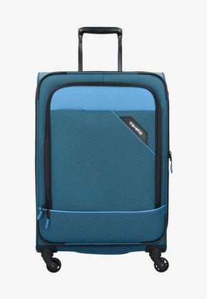 DERBY - Wheeled suitcase - blue