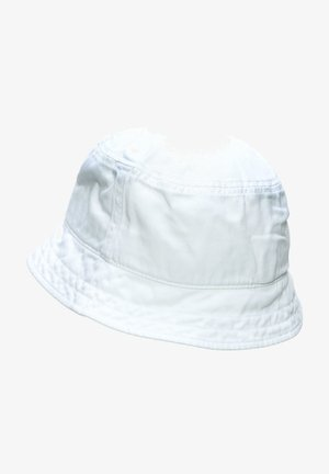 COTTON TWILL BUCKET HUT - Sombrero - white