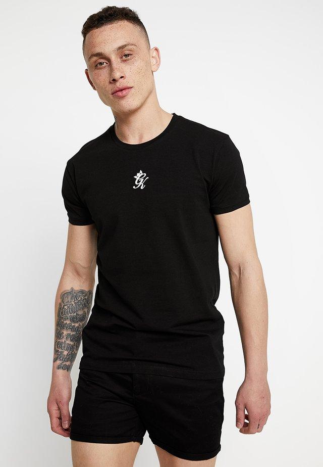 ORIGIN TEE - T-shirt z nadrukiem - black