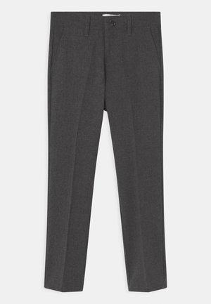 NKMRALFI - Kalhoty - grey melange