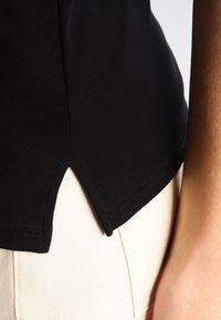 Lauren Ralph Lauren - JUDY ELBOW SLEEVE - T-shirts basic - black - 4