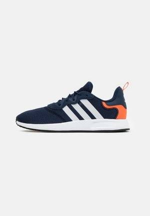 X_PLR - Joggesko - collegiate navy/footwear white/orange
