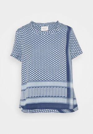 Print T-shirt - twilight blue