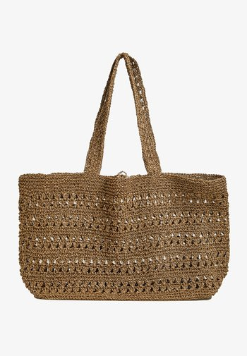 NATURAL  - Shopping bag - beige