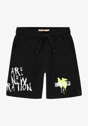 RAFF - Shorts - deep black