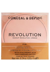 Makeup Revolution - CONCEAL & DEFINE POWDER FOUNDATION - Foundation - p10 - 4