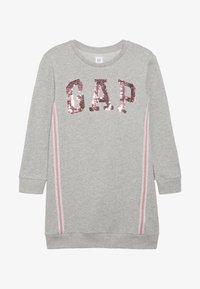 GAP - GIRL LOGO - Hverdagskjoler - grey heather - 2