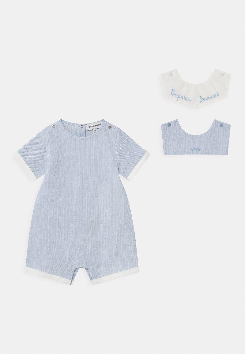 Emporio Armani - UNISEX - Overall / Jumpsuit - light blue