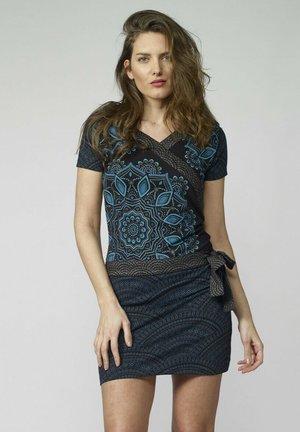 Vestido de tubo - cobalto
