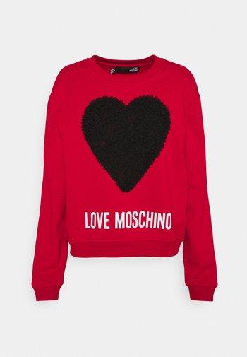 Sweatshirt - cuore nero