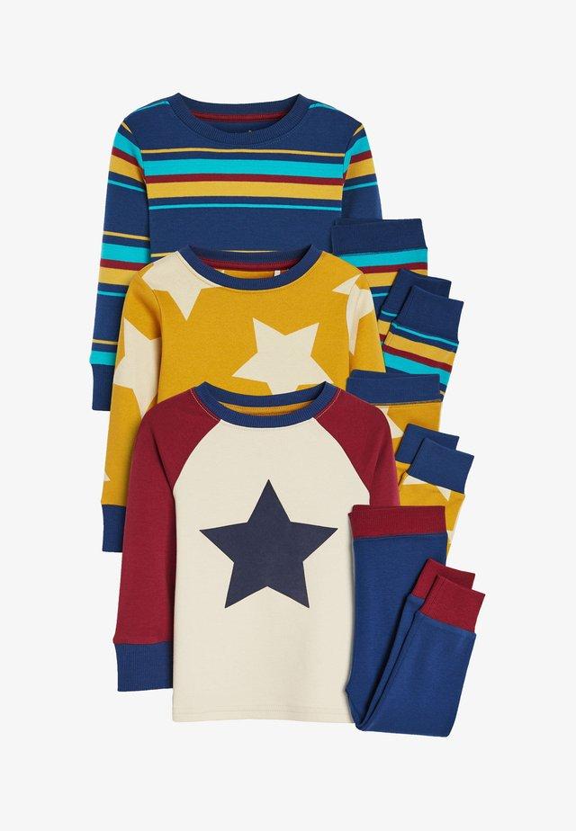 3 PACK  - Pyjama set - yellow